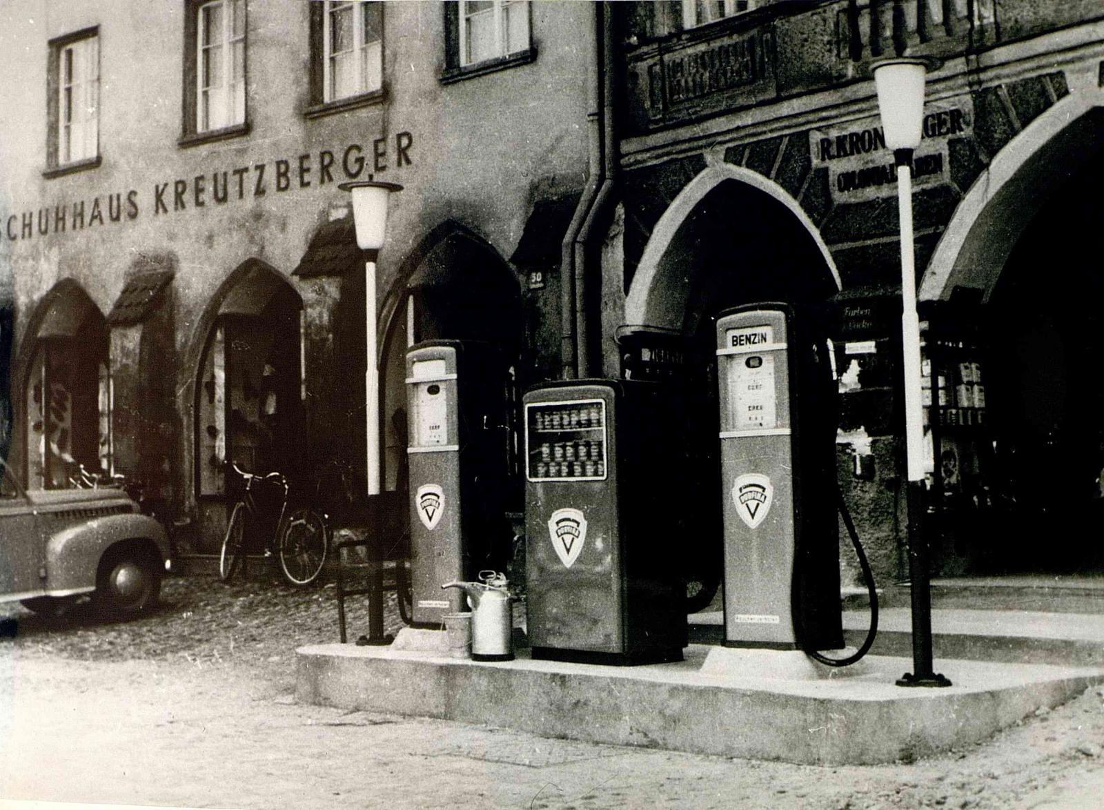 First gas station in Neuötting