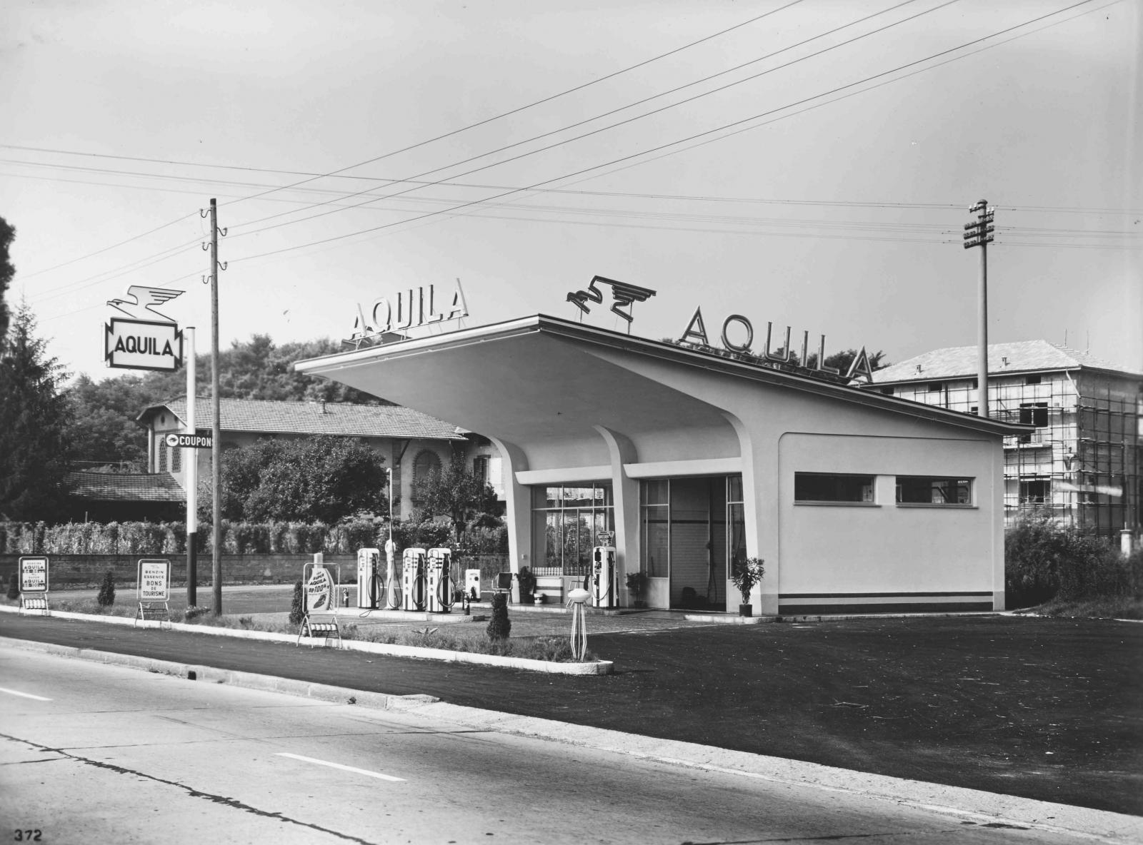 Aquila gas station
