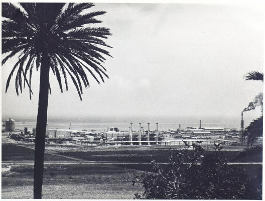 Arzew liquefaction plant comes into operation (1964)