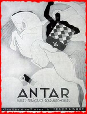 Le chevalier Antar (Illustration)