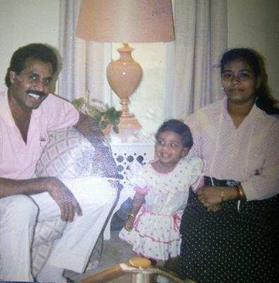 Me and my family when we moved to Doha in 1997.