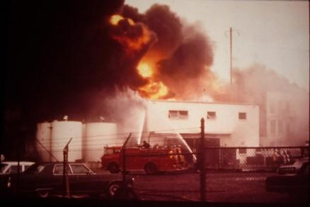 Linden Facility suffers catastrophic fire in 1971.