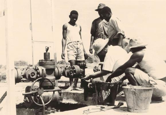 1956 - First production well in Angola