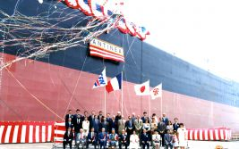 Dedication of the oil tanker Antinea