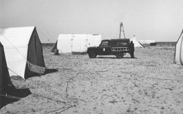 Exploration facilities in the plain of Djefarra (1955)